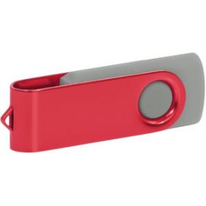"""Reklamní předmět """"Flashdisk USB 2.0"""" v barevné variantě olivová/bílá"""