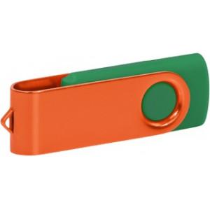 """Reklamní předmět """"Flashdisk USB 2.0"""" v barevné variantě olivová/světle šedá"""