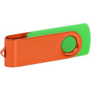 """Reklamní předmět """"Flashdisk USB 2.0"""" v barevné variantě olivová/šedá"""