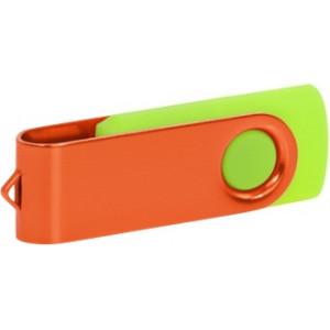 """Reklamní předmět """"Flashdisk USB 2.0"""" v barevné variantě olivová/černá"""