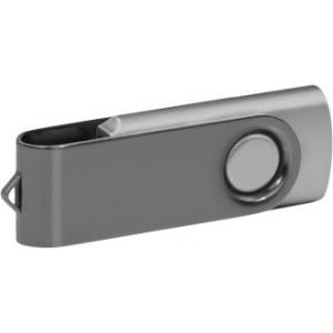 """Reklamní předmět """"Flashdisk USB 2.0"""" v barevné variantě šedá/stříbrná"""