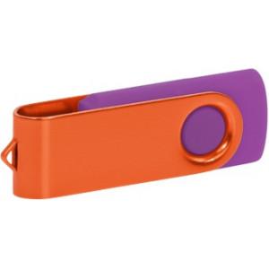 """Reklamní předmět """"Flashdisk USB 2.0"""" v barevné variantě ocelově modrá/azurová"""