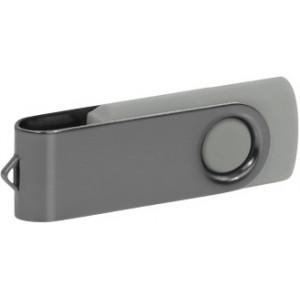 """Reklamní předmět """"Flashdisk USB 2.0"""" v barevné variantě šedá/šedá"""