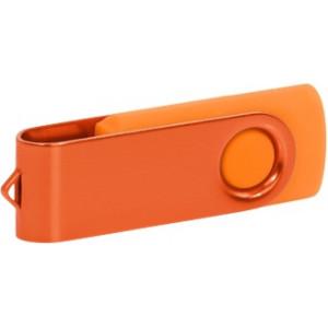 """Reklamní předmět """"Flashdisk USB 2.0"""" v barevné variantě ocelově modrá/fialová"""