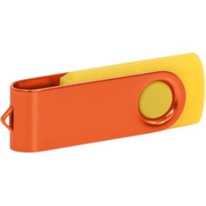 """Reklamní předmět """"Flashdisk USB 2.0"""" v barevné variantě ocelově modrá/růžová"""
