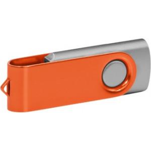 """Reklamní předmět """"Flashdisk USB 2.0"""" v barevné variantě ocelově modrá/červená"""
