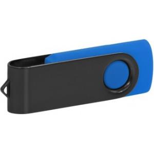 """Reklamní předmět """"Flashdisk USB 2.0"""" v barevné variantě černá/námořnická modř"""
