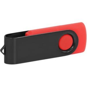 """Reklamní předmět """"Flashdisk USB 2.0"""" v barevné variantě černá/oranžová"""