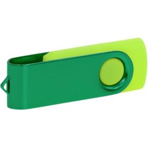 """Reklamní předmět """"Flashdisk USB 2.0"""" v barevné variantě námořnická modř/oranžová"""