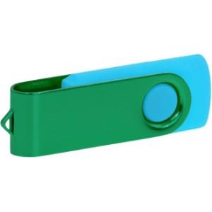 """Reklamní předmět """"Flashdisk USB 2.0"""" v barevné variantě námořnická modř/červená"""