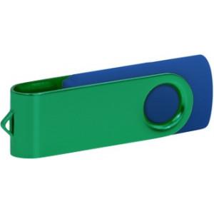 """Reklamní předmět """"Flashdisk USB 2.0"""" v barevné variantě námořnická modř/bílá"""