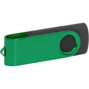 """Reklamní předmět """"Flashdisk USB 2.0"""" v barevné variantě tmavě šedá/námořnická modř"""