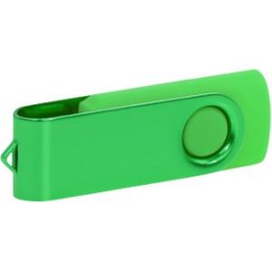 """Reklamní předmět """"Flashdisk USB 2.0"""" v barevné variantě tmavě šedá/růžová"""