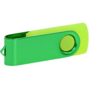 """Reklamní předmět """"Flashdisk USB 2.0"""" v barevné variantě tmavě šedá/oranžová"""