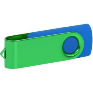 """Reklamní předmět """"Flashdisk USB 2.0"""" v barevné variantě tmavě šedá/žlutooranžová"""