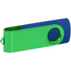 """Reklamní předmět """"Flashdisk USB 2.0"""" v barevné variantě tmavě šedá/bílá"""