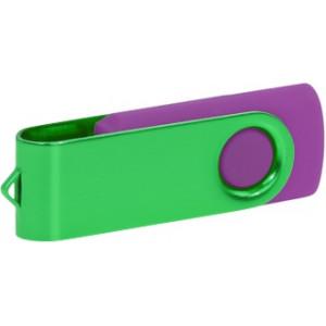 """Reklamní předmět """"Flashdisk USB 2.0"""" v barevné variantě tmavě šedá/stříbrná"""