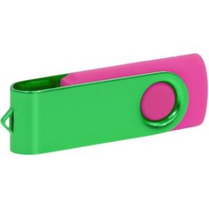 """Reklamní předmět """"Flashdisk USB 2.0"""" v barevné variantě tmavě šedá/světle šedá"""