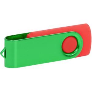 """Reklamní předmět """"Flashdisk USB 2.0"""" v barevné variantě tmavě šedá/šedá"""