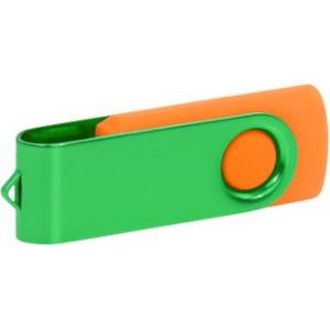 """Reklamní předmět """"Flashdisk USB 2.0"""" v barevné variantě tmavě šedá/černá"""