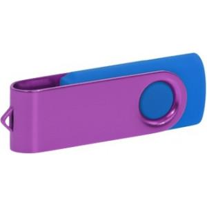 """Reklamní předmět """"Flashdisk USB 3.0"""" v barevné variantě fialová/námořnická modř"""