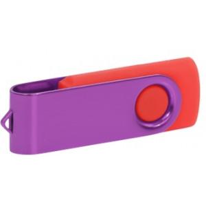 """Reklamní předmět """"Flashdisk USB 3.0"""" v barevné variantě fialová/oranžová"""