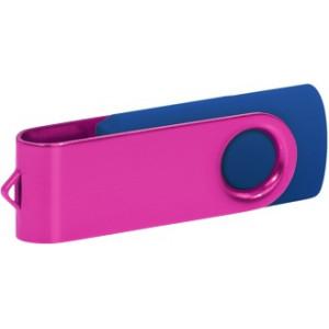 """Reklamní předmět """"Flashdisk USB 3.0"""" v barevné variantě růžová/námořnická modř"""