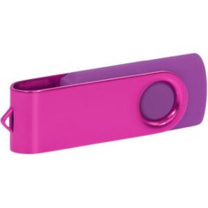 """Reklamní předmět """"Flashdisk USB 3.0"""" v barevné variantě růžová/fialová"""