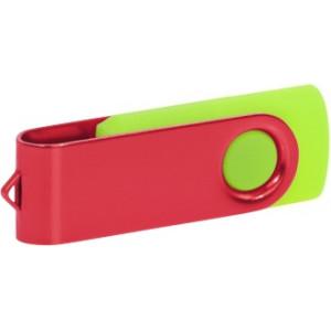"""Reklamní předmět """"Flashdisk USB 3.0"""" v barevné variantě oranžová/žlutozelená"""