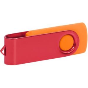 """Reklamní předmět """"Flashdisk USB 3.0"""" v barevné variantě oranžová/červená"""