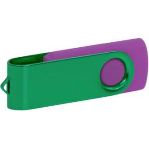 """Reklamní předmět """"Flashdisk USB 3.0"""" v barevné variantě tmavě zelená/fialová"""