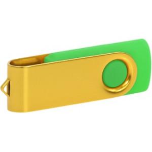 """Reklamní předmět """"Flashdisk USB 3.0"""" v barevné variantě žlutá/žlutozelená"""