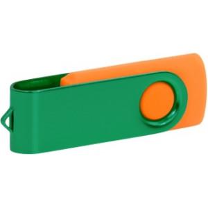 """Reklamní předmět """"Flashdisk USB 3.0"""" v barevné variantě tmavě zelená/červená"""