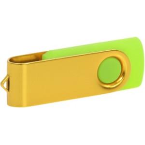 """Reklamní předmět """"Flashdisk USB 3.0"""" v barevné variantě žlutá/azurová"""