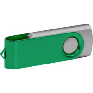 """Reklamní předmět """"Flashdisk USB 3.0"""" v barevné variantě tmavě zelená/stříbrná"""