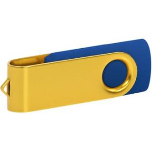 """Reklamní předmět """"Flashdisk USB 3.0"""" v barevné variantě žlutá/fialová"""