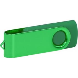 """Reklamní předmět """"Flashdisk USB 3.0"""" v barevné variantě tmavě zelená/ocelově modrá"""