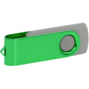 """Reklamní předmět """"Flashdisk USB 3.0"""" v barevné variantě tmavě zelená/šedá"""