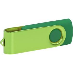 """Reklamní předmět """"Flashdisk USB 3.0"""" v barevné variantě olivová/ocelově modrá"""
