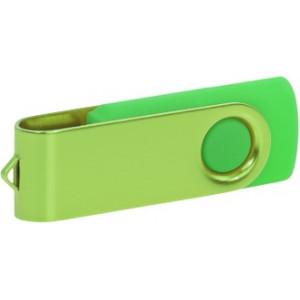 """Reklamní předmět """"Flashdisk USB 3.0"""" v barevné variantě olivová/žlutozelená"""