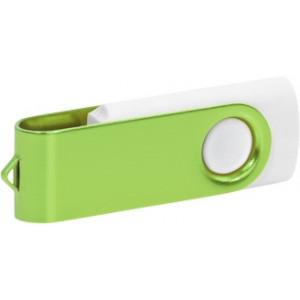 """Reklamní předmět """"Flashdisk USB 3.0"""" v barevné variantě olivová/bílá"""