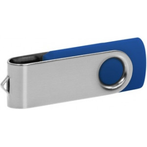 """Reklamní předmět """"Flashdisk USB 3.0"""" v barevné variantě stříbrná/fialová"""