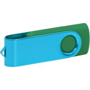 """Reklamní předmět """"Flashdisk USB 3.0"""" v barevné variantě ocelově modrá/ocelově modrá"""