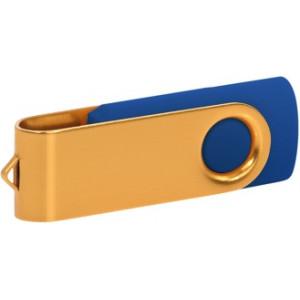 """Reklamní předmět """"Flashdisk USB 3.0"""" v barevné variantě zlatá/fialová"""