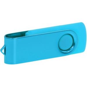 """Reklamní předmět """"Flashdisk USB 3.0"""" v barevné variantě ocelově modrá/azurová"""