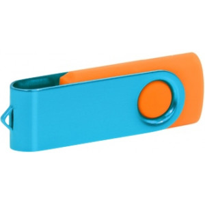 """Reklamní předmět """"Flashdisk USB 3.0"""" v barevné variantě ocelově modrá/červená"""