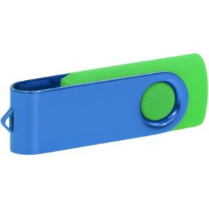 """Reklamní předmět """"Flashdisk USB 3.0"""" v barevné variantě námořnická modř/žlutozelená"""
