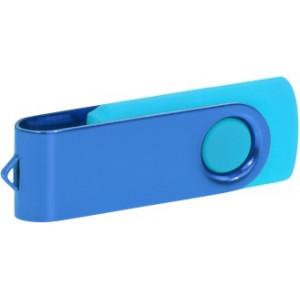 """Reklamní předmět """"Flashdisk USB 3.0"""" v barevné variantě námořnická modř/azurová"""