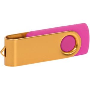 """Reklamní předmět """"Flashdisk USB 3.0"""" v barevné variantě zlatá/oranžová"""