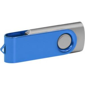 """Reklamní předmět """"Flashdisk USB 3.0"""" v barevné variantě námořnická modř/stříbrná"""
